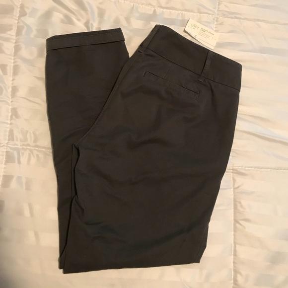 e47c247b926d5a LOFT Pants - Ann Taylor Loft Crop skinny chinos